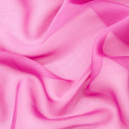 Chiffon lampo rosa acceso