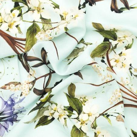 Viscosa fiori di ciliegio