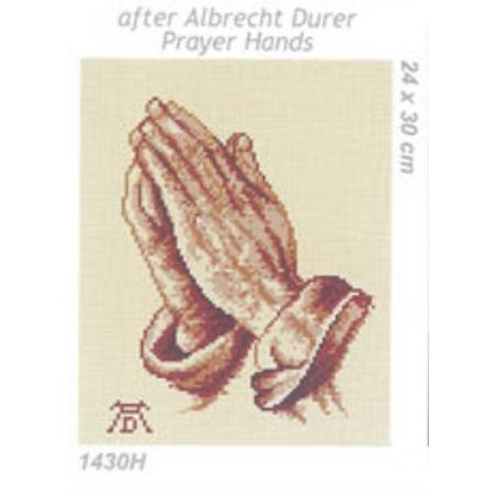 Tela mezzo punto Preghiera