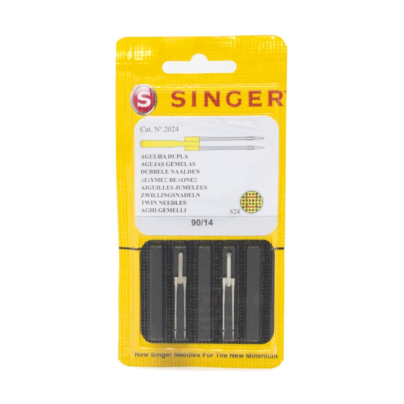 Confezione di Aghi Singer per sintetici 80//90//100