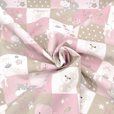 Cotone baby rosa