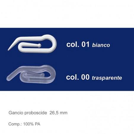 Gancio proboscide tende 10 pz