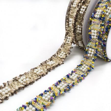 Passamaneria Chanel perle