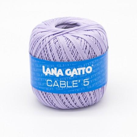 Cotone Cablé 5 - Lilla