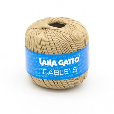 Cotone Cablé 5/8 - Sabbia