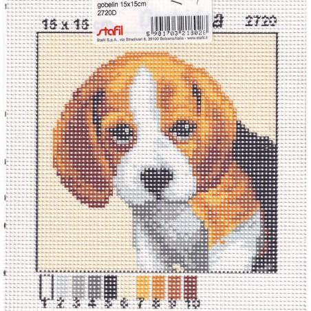 Tela mezzopunto Beagle