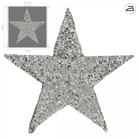 Patch Stella XL argento