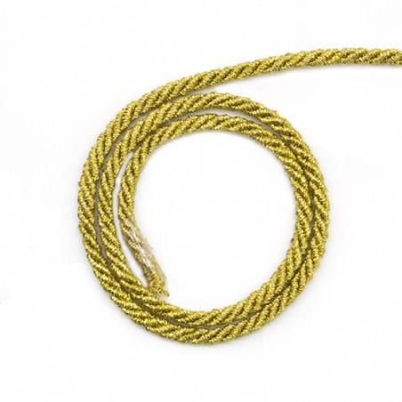Cordoncino lurex oro