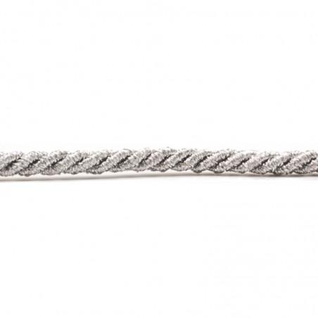 Cordoncino lurex argento