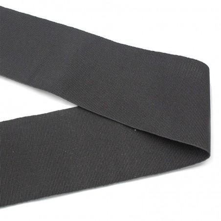 Gros-grain cotone grigio