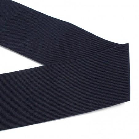 Gros-grain cotone blu scuro
