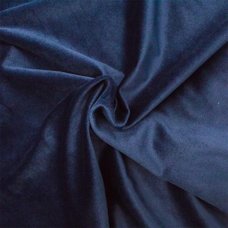 Velluto tappezzeria blu