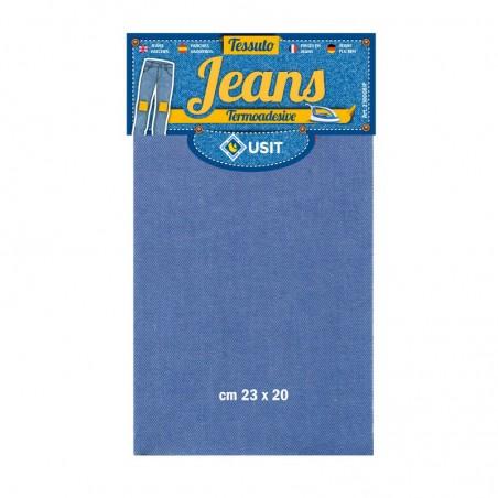 Tessuto Jeans termoadesivo 23x20