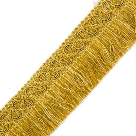Frangia giallo oro sfumata