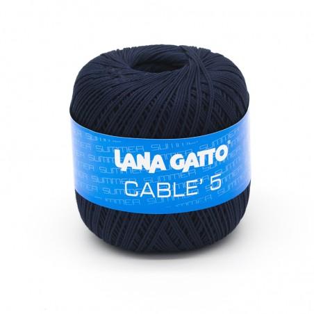 Cotone Cablé 5/8 - Blu