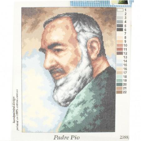 Tela mezzopunto Padre Pio