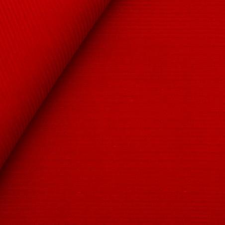 Velluto a coste 1000 righe rosso