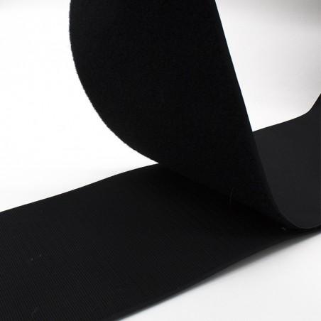 Velcro 150 mm nero